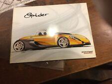 Renault Spider brochure depliant prospekt