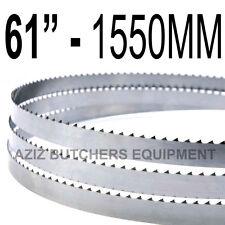 "Butchers Meat Bandsaw Blades (5 Pack). 61"" (1550mm) X 5/8"" X 4tpi"
