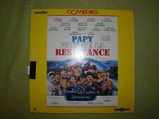 LASERDISC - LASER DISC - LASER DISQUE - LD - FILM - PAPY FAIT DE LA RESISTANCE