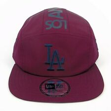 New Era Cap Men's MLB LA Dodgers Team Tonal Camper 5 Panel Adjustable Hat
