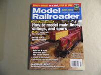 Model Railroader Magazine / October 2008 / Free Domestic Shipping