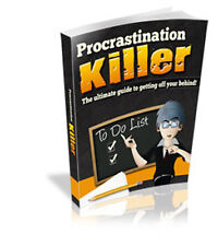 You Can Find Success And Change Your Life Forever - PROCASTINATION KILLER (CD)