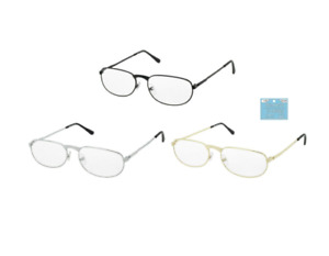 Distance Glasses Metal Frames Near Sighted J006 -1.25 to -2.75 Negative Strength