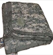 """Genuine US Military Poncho Liner """"Woobie"""" ACU camo Grade B Good condition USGI"""