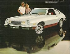 Ford Pinto 1978 Canadian Market Sales Brochure Sedan Runabout Wagon