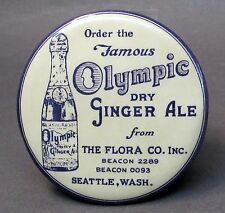 1924 OLYMPIC GINGER ALE Seattle WASHINGTON advertising celluloid valet brush *