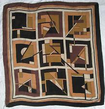 auth foulard TENAX 100% soie en très bon état  vintage Scarf