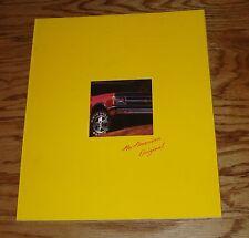 Original 1992 Chevrolet S-10 Blazer Sales Brochure 92 Chevy