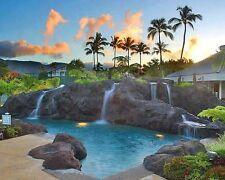 Hawaii Vacation Kauai Princeville  7 nights 6/30/2018 2 bdm 2 ba Ocean View!