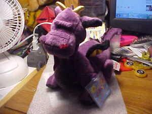 Ganz Purple Dragon Stuffed Animal