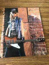 Duff McKagan autographed 11x14 Photo Gun's and Roses  G & R