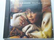 ANITA BAKER <>  Rhythm Of Love  <> VG+ (CD)