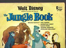 "WALT DISNEY ""S/TRACK"".JUNGLE BOOK.PHIL HARRIS / LOUIS PRIMA ECT.UK ""1967"" LP.VG-"