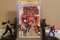 MARVEL ZOMBIES: #5 CGC 9.8 SS STAN LEE SUYDAM; ANNUAL 21 SPIDER-MAN; KIRKMAN