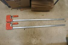 """2 Bessey 40"""" Bar Clamps"""
