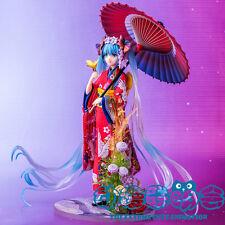 Miku Hatsune (Vocaloid) Anime Manga Figuren Set H:25cm Neu