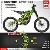 MX Graphics Kit Custom Stickers Kit for Sur-Ron Light Bee X Bike Full Vinyl Wrap