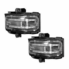 RECON 264245WHCL Ford 17-18 F250 F350 F450 Clear Lens - White LED Mirror Light