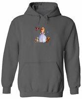 Unisex Pullover Hoodie Sweater Sweatshirt Print Princess Sofia and the Animals