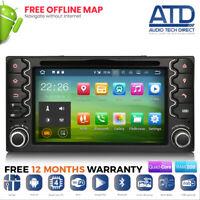Android 9.0 GPS Sat Nav DAB DVD Radio Stereo For Toyota Highlander Estima Previa