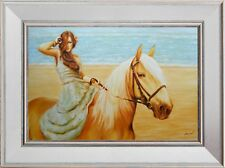 """Sitting Pretty"": Original Oil Painting, Beautiful Gift Idea!"