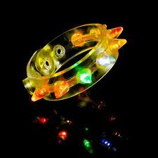Cartoon LED Licht Glow Armband Kinder Kostüme Geburtstag Spielzeug We P7R4