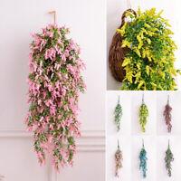 1*Artifical Flower Ivy Vine Hanging Garland Plants Wedding Home Party Decor 75cm