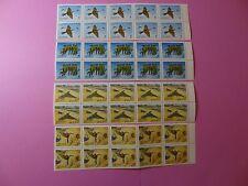 Stamps CHINA * SC 3484-87 * MNH * Blocks of 10 * Merops Philippinus * 2003