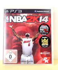 °° NBA 2K14 - Basektball - 2013 - PS 3 - Playstation 3 - ohne Spielanleitung °°