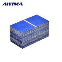 AIYIMA 100Pcs Solar Panel Sun Cell Sunpower Solar Cell DIY Solar Battery Charger
