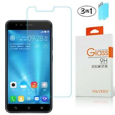 [3x] Nacodex Tempered Glass Screen Protector For Asus Zenfone 3 Zoom ZE553KL