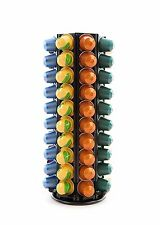 80 NESPRESSO COFFEE POD CAPSULE REVOLVING HOLDER STAND RACK - PEAK COFFEE® N80B