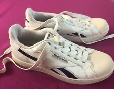 Mens Vintage Reebok Shoes Size 5.5 White Walking Running Shoe F1