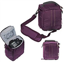 Navitech Purple DSLR Camera Bag For Nikon Coolpix B500 (UK IMPORT) CAMERA-AC NEW