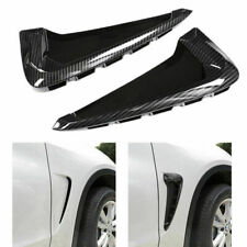 Air Flow Fender Grill Intake Vent Trim Carbon for X5 F15 2014-2015 Side Wing