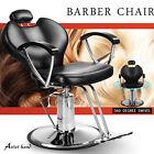 Hydraulic Reclining Barber Chair Heavy Duty Salon Beauty Tattoo Shave Equipment