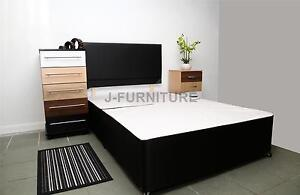 Divan Bed Base. 3 Colours +FREE HEADBOARD