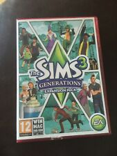 EA The Sims 3 Generations Expansion Pack PC Windows VGC