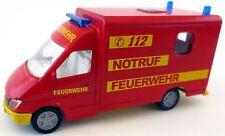 Siku Mercedes Benz Sprinter 2020 Feuerwehr Notruf 112 Notarzt 1/55 Bahre rot
