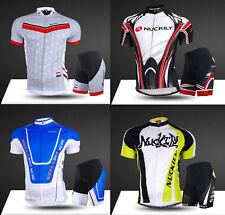 Herren Atmungsaktiv Biketrikot Radfahren Fahrradtrikot & Fahrradhose Kurzarm N52