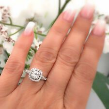 Neil Lane Princess Cut Diamond Engagement Ring 1.00 tcw 14k White Gold