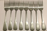 Oneida Independence Deluxe Stainless Salad Forks Flatware Silverware Vintage Lot