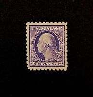 US Stamps, Scott #464 3c Washington 1916 Type I 2018 PSAG Cert - GC XF 90