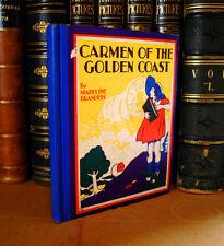 Carmen of the Golden Coast by Madeline Brandels, 1935 California San Francisco