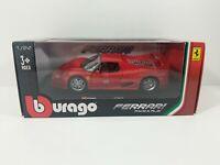 Burago Ferrari F50 Race & Play Red 1:24 Scale Diecast