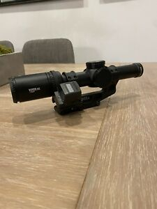 Vortex Viper PST Gen II 1-6x24 SFP 30mm With Offset Holosun 509t In Unity Mount