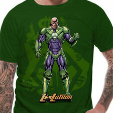 Superman-Lex Luthor T Shirt-Nuevo Y Oficial