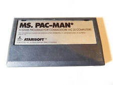 Commodore Vic-20 Ms. Pac Man computer cartridge  - WORKS