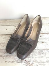 Magdesian Vintage Brown Loafers, Size 8N