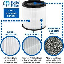True Hepa Filter Compatible with SylverOnyx Air Purifiers (5-Speed, Large Room)